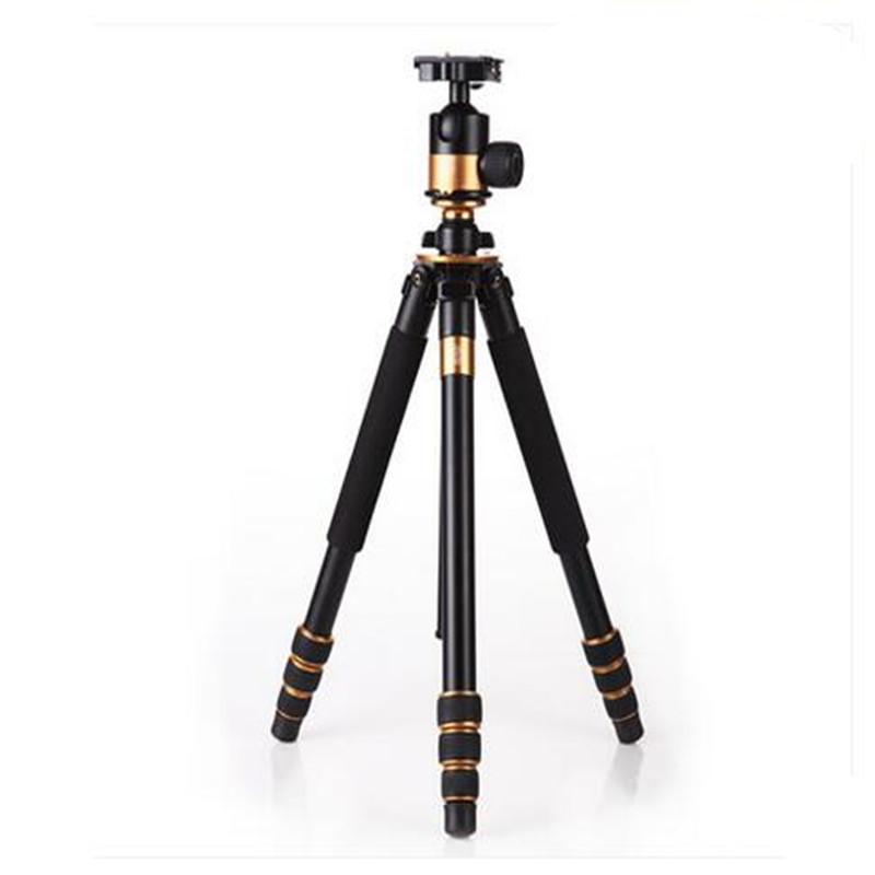 Q1000 Professional Photographic Tripod For SLR Camera Tripod + Ball Head Hight 1630MM DHL Free Shipping low price monitor head tripod camera telescope mini stand adjustable tripod free shipping page 8