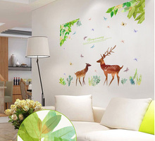 The Wizard Of Oz Stickers Sika Deer Wallpaper Household Adornment To Wall  Stickers Decoration Furnishing Art Part 44