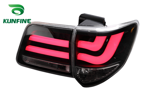 KUNFINE Pair Of Car Tail Light Assembly For TOYOTA FORTUNER 2012 2013 2014 2015 2016 LED