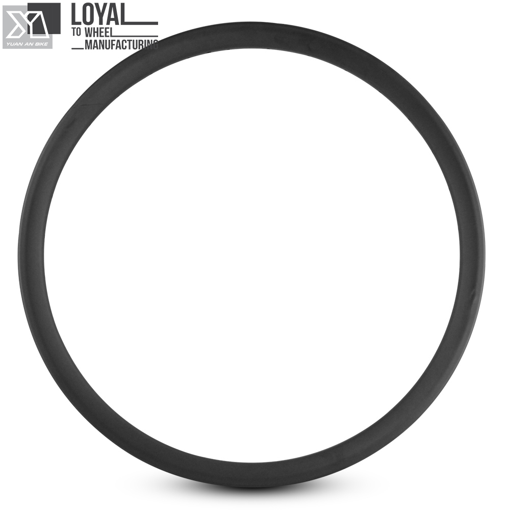 <font><b>26er</b></font> MTB Felge Toray T700 <font><b>Carbon</b></font> Kreuz Land Alle Mountain <font><b>Rim</b></font> 35mm * 25mm Tubeless Ready Für mountainbike image