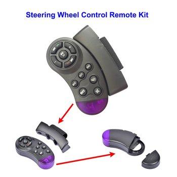 Inteligentna inteligentna ergonomiczna konstrukcja zdalne sterowanie kierownica zdalne sterowanie DVD samochód samochodowy CD czarny tanie i dobre opinie LESHP QP4021300 60 0000g Mp4 mp5 Black