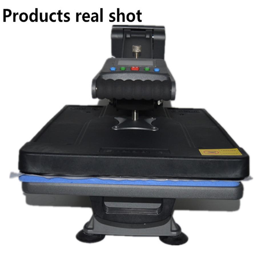 40*50cm New Design Panel Heat Transfer Machine 110v/220v Sublimation Flatbed Heat Press Machine T-Shirt Printing Machine ST4050