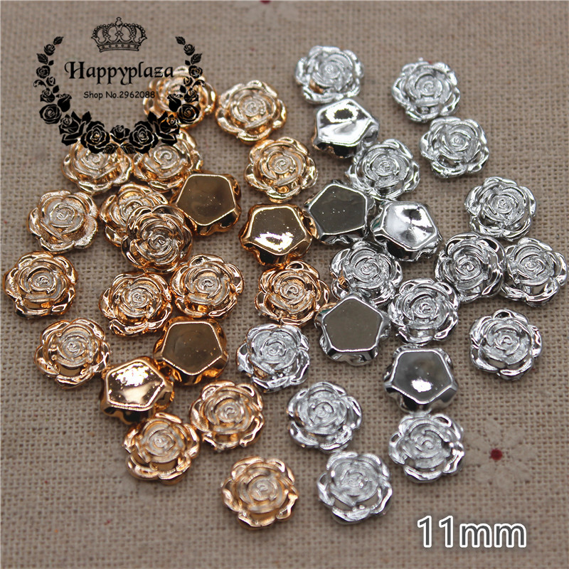 200pcs Resin Silver Star Sewing Buttons scrapbooking decoration Handicrafts 13mm