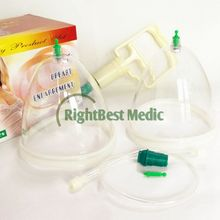 Top Quality Professional Vacuum Cupping Body Massager Breast Enhancement Fat Cups Massager Big Size with pump therapy for Female