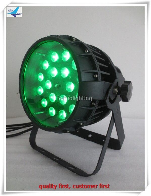 T- 12pcs+flight case outdoor 18x10w rgbw 4in1 zoom par, LED par light for event disco stage party strobe dj bar show