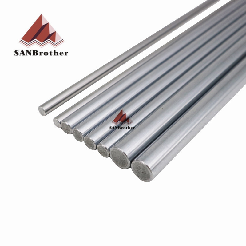 3D Printer Ultimaker UM2+ Extended Smooth Rod Smooth Rod Sets OD6mm 8mm 12mm 3D Printer XYZ Axis Chrome Plate Top Quality ultimaker 2 extended assemble frame plate for diy 3d printer aluminum composite plate 6mm thickness case housing 350 390 340