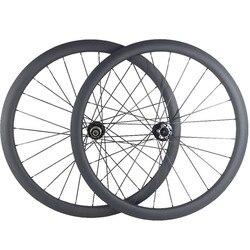 Węglowe koła hamulec tarczowy 700c D791SB D792SB piasty 100x9mm 142x12mm 1600g 38mm clincher 23mm węglowe koła et 3 K UD koło rowerowe w Koła roweru od Sport i rozrywka na