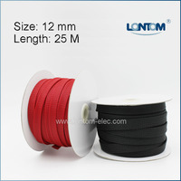 Mini Spool 12 Mm 25M PET Braided Expandable Auto Wire Cable Sleeve High Quality