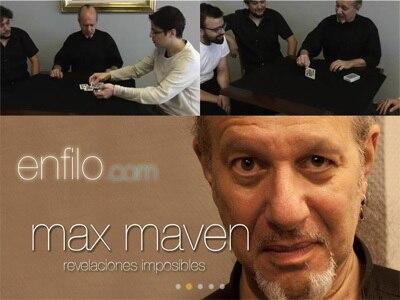 2015  Revelaciones Imposibles By Max Maven-Magic Tricks