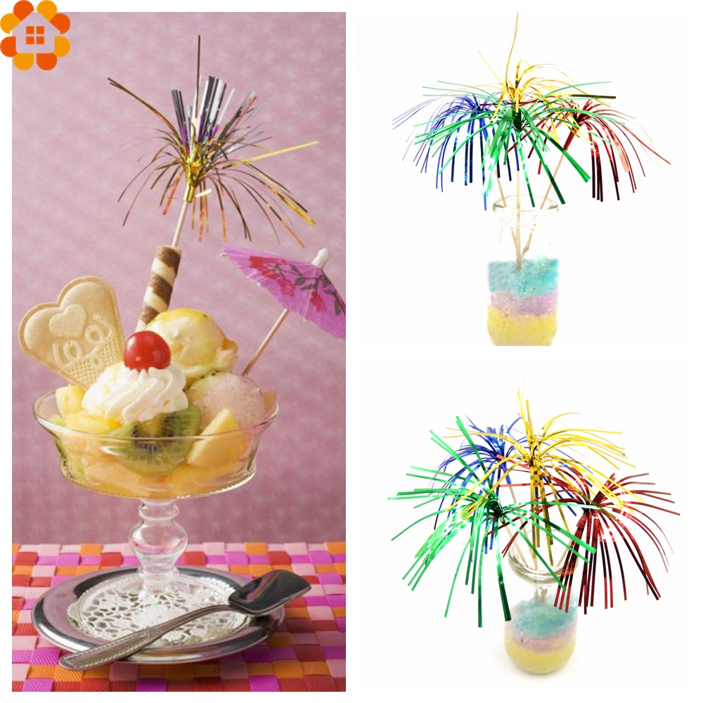 DIYHouse® 50PCS//Lot Cupcake Toppers Cocktail Decoration Topper Picks Party