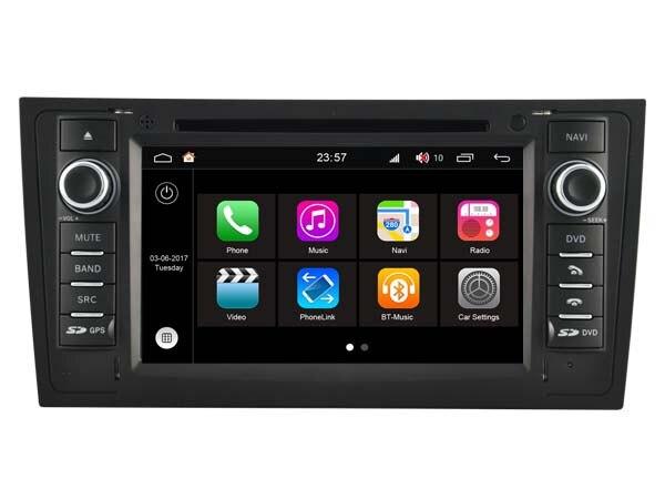 S190 Android 7.1 SAMOCHODOWY odtwarzacz DVD DLA AUDI A6 (1997-2004) car audio stereo Multimedia GPS stereo głowy urządzenie urządzenie WIFI