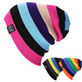 Unisex Women Warm Winter Baggy Beanie Knit Crochet Oversized Hats Slouch Ski Cap