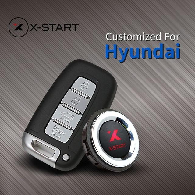 US $288 0 |x start Keyless Go Smart Key Keyless Entry Push Remote Button  Start for Hyundai Sonata Verna Rohens ix35 ix25 Elantra i30 Tucson-in  Burglar