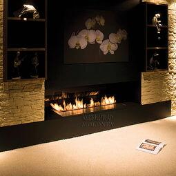 Inno Fire 36 Inch Silver Or Black Wifi Real Fire Intelligent Indoor Auto Fireplace Ethanol