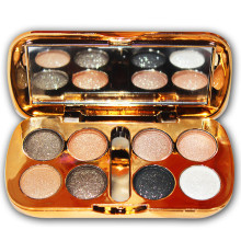 Fashion eyeshadow palette 8 colors matte eyeshadow palette glitter eye shadow makeup nude makeup set Cosmetics * стоимость