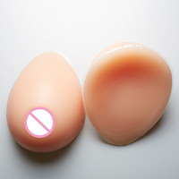 1pair L Size 800g False Breast Artificial Breasts Silicone Breast Forms Fake Boobs Realistic Silicone Breast
