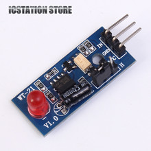 LED Flash Alarm Module Low Level Trigger DC 5V 10mA Learning Module For Arduino