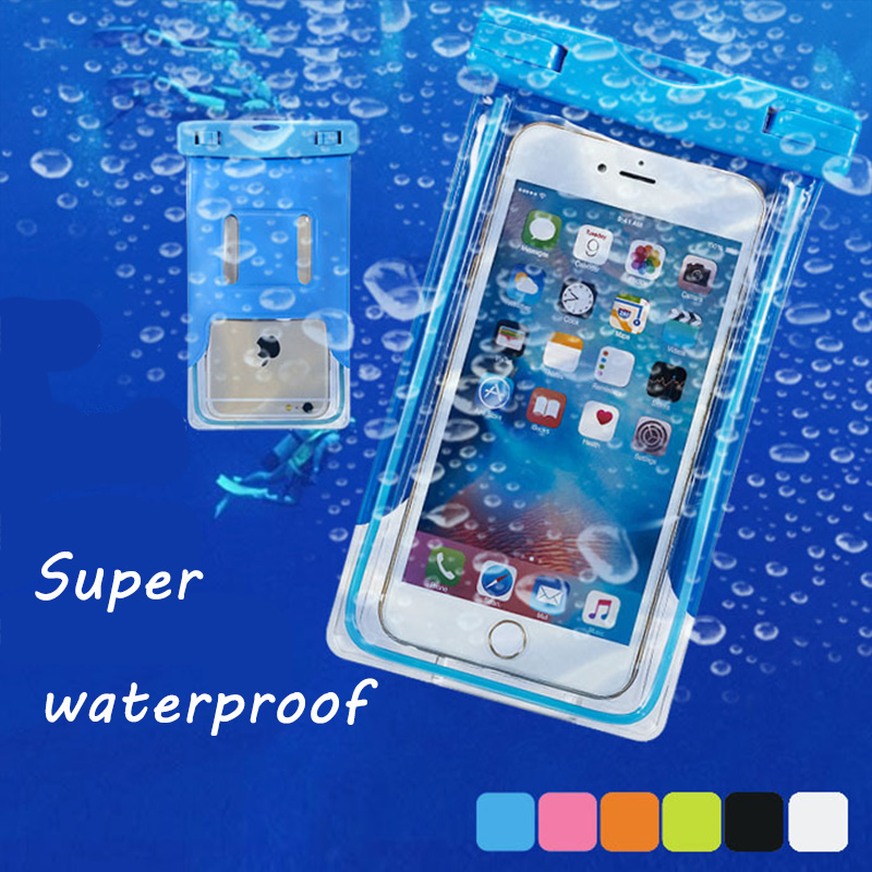 hot sale online cb3cb d8c08 US $3.95 21% OFF|For Nokia 6 Waterproof Case 950xl Mobile Phone Underwater  Pouch Transparent Bags Cover For LG G6 G5 For Oppo find x r9s vivo x9-in ...