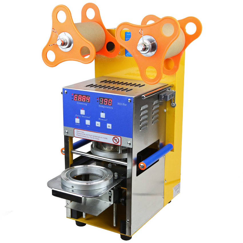 1 шт. 400 600 Чашки/ч полностью автоматический Боба Bubble Чай уплотнитель чашки machine_cup запайки _ Пластик кубок запайки