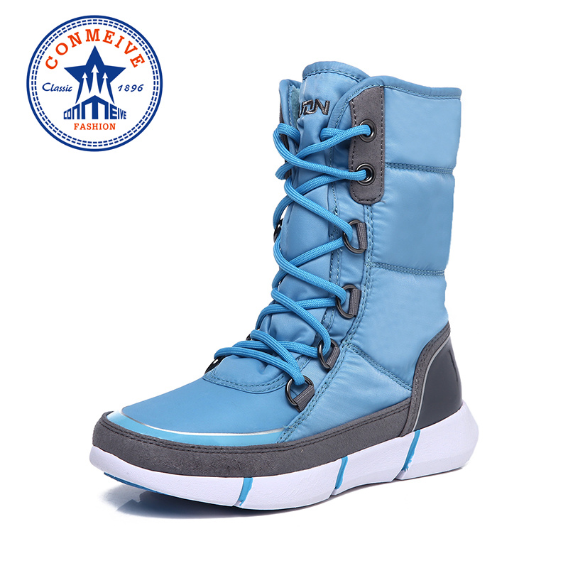 New Winter Waterproof Warm Hiking Boots Lace-up Non-slip Outdoor Hunting Shoes Trekking Profession Climbing Sneakers Women ShoesNew Winter Waterproof Warm Hiking Boots Lace-up Non-slip Outdoor Hunting Shoes Trekking Profession Climbing Sneakers Women Shoes