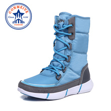 New Winter Waterproof Warm Hiking Boots Lace-up Non-slip Outdoor Hunting Shoes Trekking Profession Climbing Sneakers Women Shoes