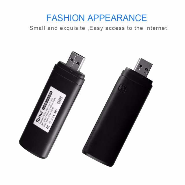 Smart TV Card Wireless LAN Network USB 2 0 Adapter WiFi Dongle For Samsung  Desktop Laptop Television 2 4G & 5G Dual band 300Mbps