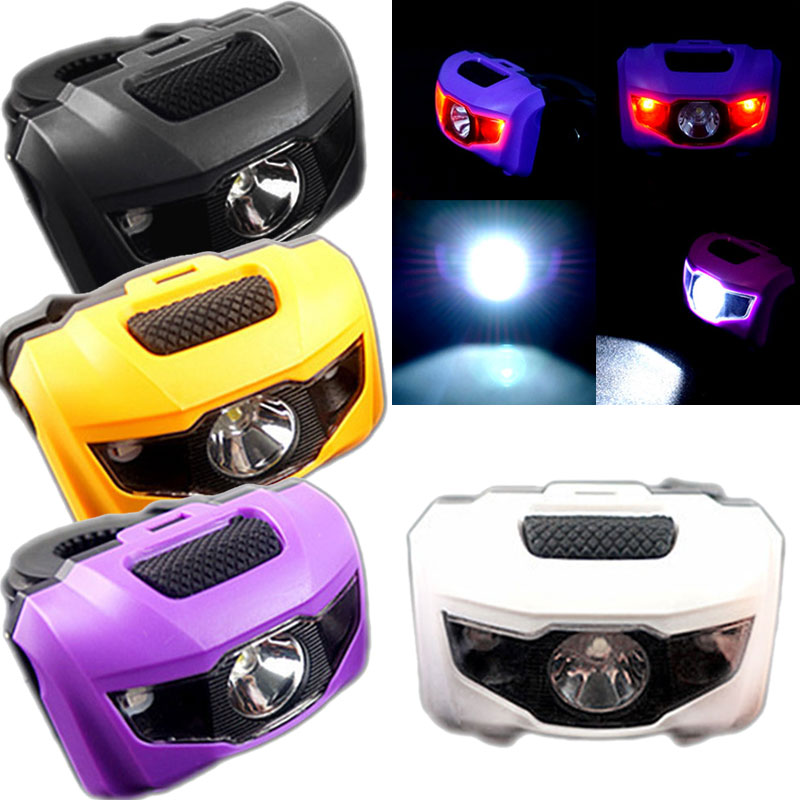 1pcs Cycling Bike Bicycle Silicone 2LED Frog Front Light Safety Warning Lamp