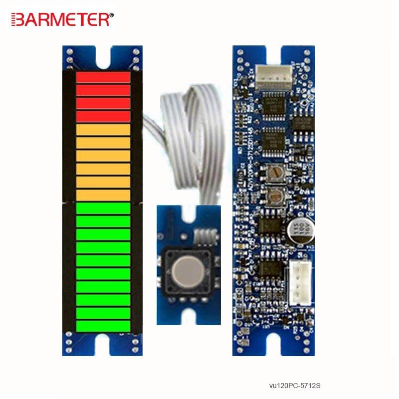 Stereo Sound Level Indicator