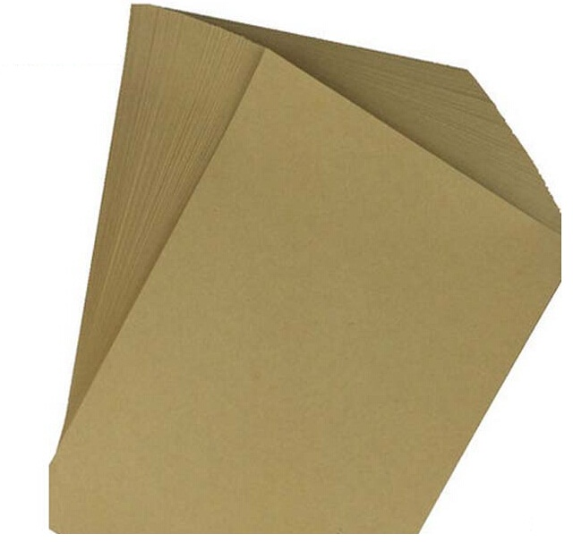 A4 Brown Kraft Paper 80gsm Recycled Sheet Blank For Printing