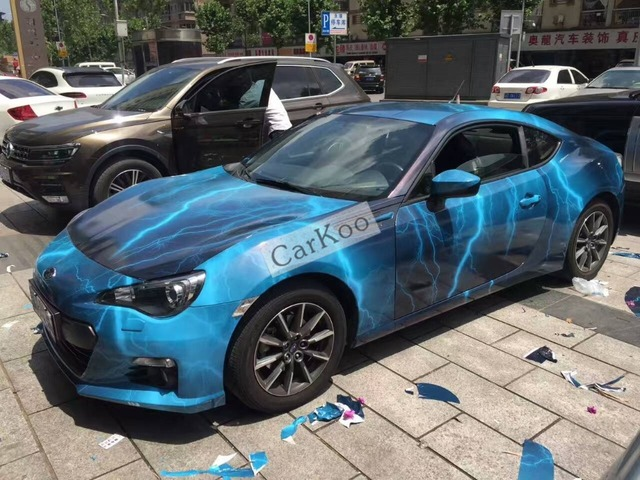 Gaya baru kustom galaxy mobil sticker bom bom Camo Vinyl Wrap Mobil Wrap Dengan Air Rilis stiker Bodi Mobil Stiker