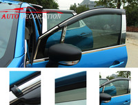For Renault Captur Samsung QM3 2013 2014 2015 Car Styling Exterior Window Visor Side Window Deflectors