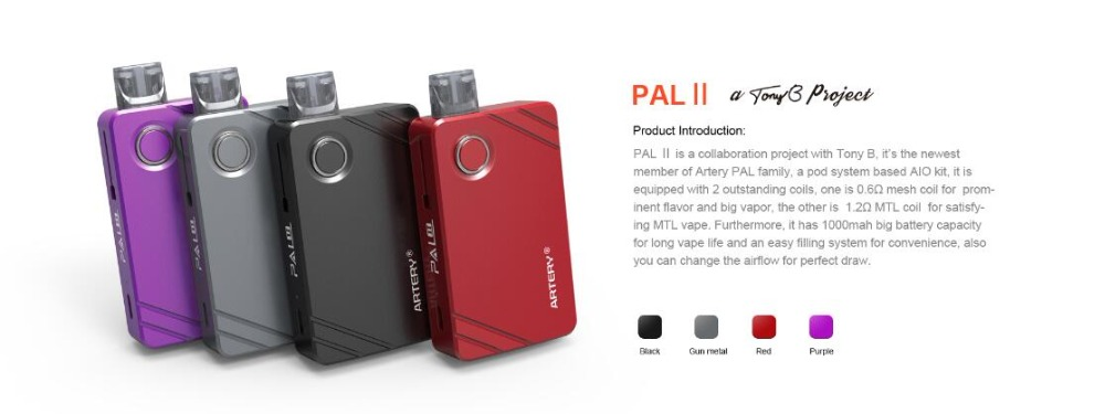Artery PAL II 1000mAh Kit