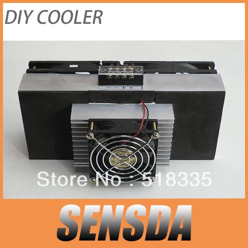Prix pour SXDOOL DIY Peltier semi-conducteurs de réfrigération système de refroidissement DIY kit radiateur refroidisseur Peltier