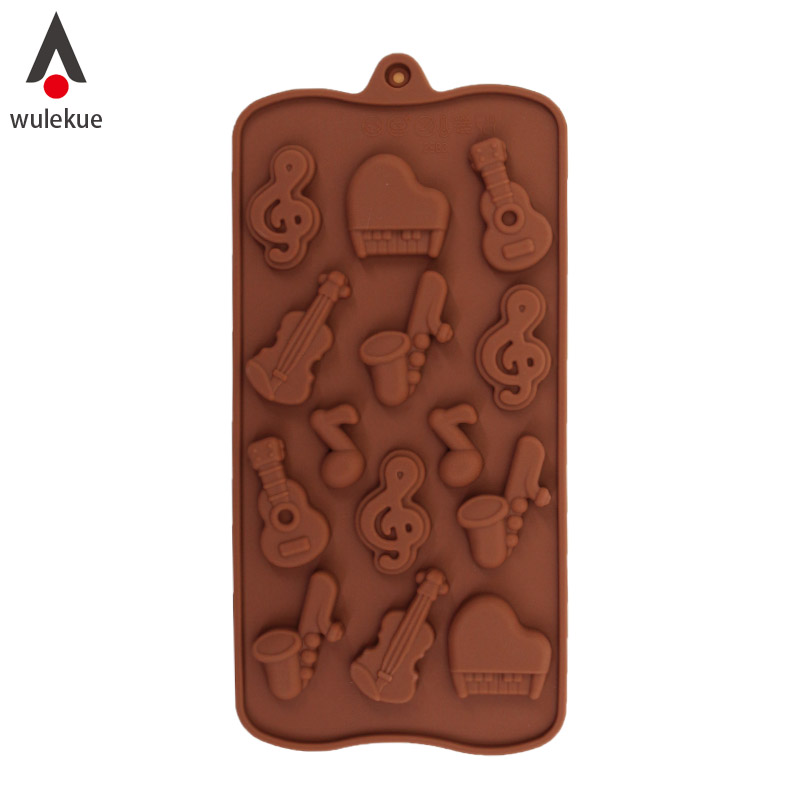 4pcs Musical Instrument Cello Violin Tuba Music Note Plastic Plunger Cutter Cookie Embossing Cake Decorating Tool Fondant Mold Making Things Convenient For The People Cake Molds Home & Garden