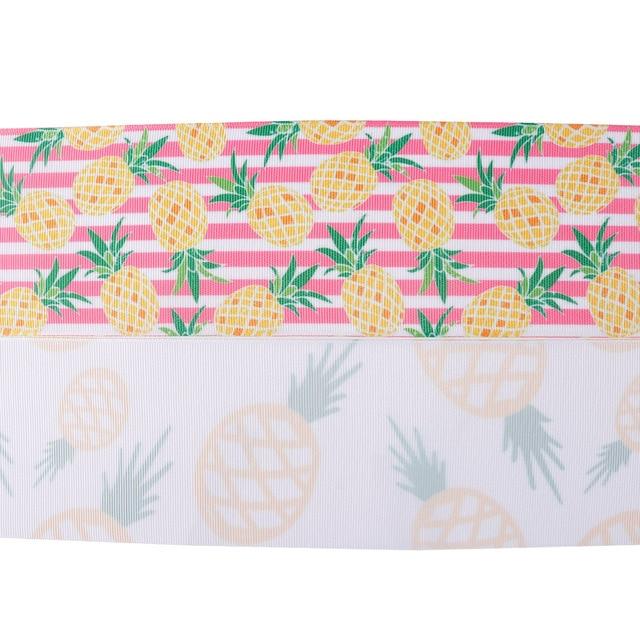 Ruban imprimé fruits Grosgrain bricolage | Inœuds 2Yard/roll 3