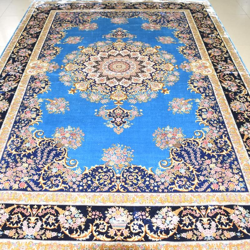 Mingxin 6x9 feet blumen moderne teppich perserteppich Handarbeit ...