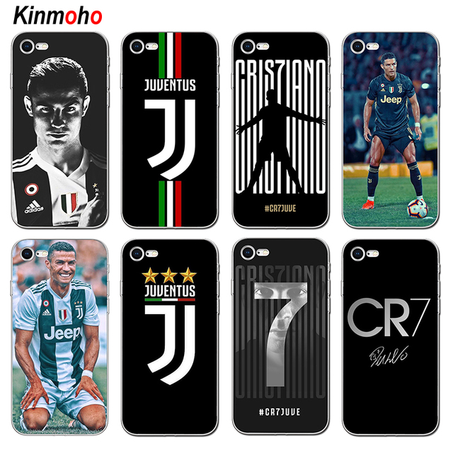 detailed look 922a3 75084 US $1.97 21% OFF|Juventus Soccer Football CR7 Cristiano Ronaldo Soft TPU  Phone Case Cover For iPhone 7 6 6S 8 Plus X XS MAX 5 5S SE Coque Fundas-in  ...