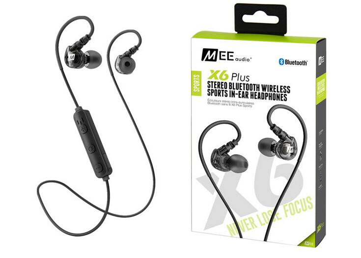 MEE Audio X6 Plus Wireless Earphones Bluetooth Sport Running Earbud Headphone With Mic For Iphone Android In-ear Music Headset