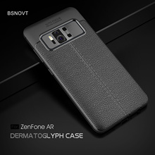 For Asus Zenfone AR ZS571KL Case Soft Silicone TPU Leather Shockproof Anti-knock Phone Case For Asus Zenfone AR ZS571KL Cover ibanez ar c case