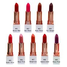 Sweet Residence 9Colors Matte Liquid Lipstick long-lasting Red Black Lip gloss Makeup Stick Nude Beauty Tint China Cosmetics