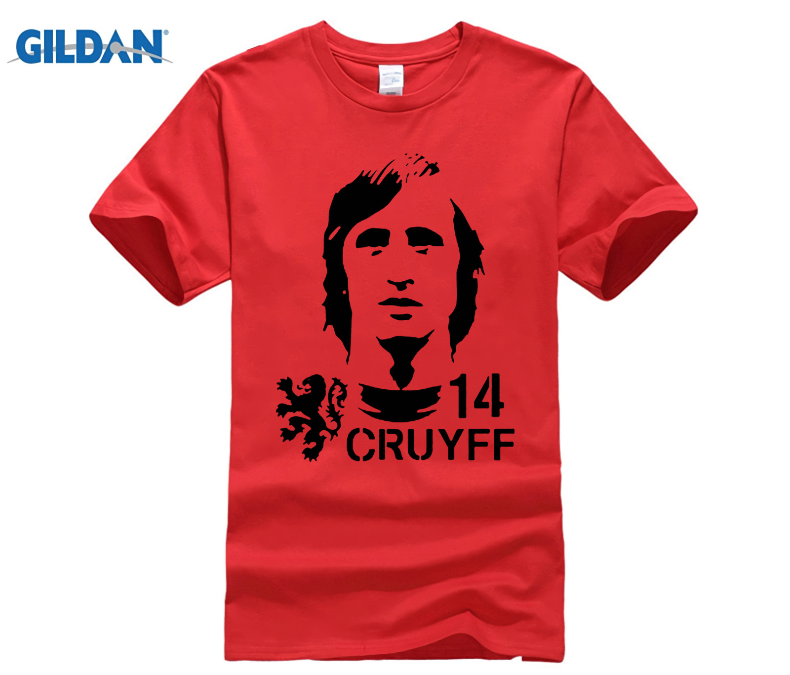 funny men t shirt Hendrik Johannes Cruyff Holland Nederland Ajax  The Godfather 100% cotton t shirt 5