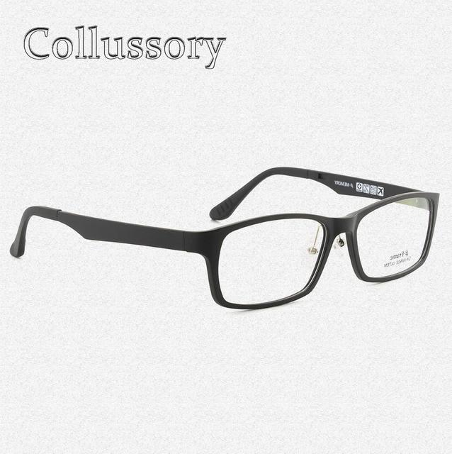 4eefc6a386 Ultem Tungsten Optical Eyeglasses Frames for Man Sport Prescription Eyewear  Reading Computer Goggles Flexible Glasses Full