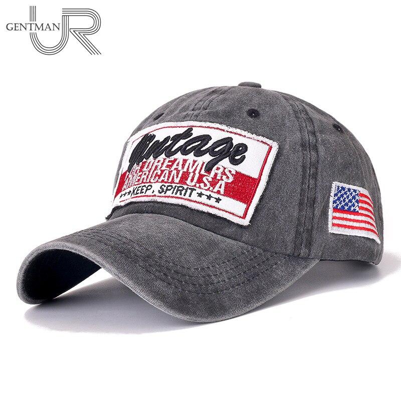 Nuevo gorra Retro Unisex parche 3D bordado de algodón lavado gorra de béisbol hombres mujeres Casual ajustable al aire libre camionero Snapback sombreros
