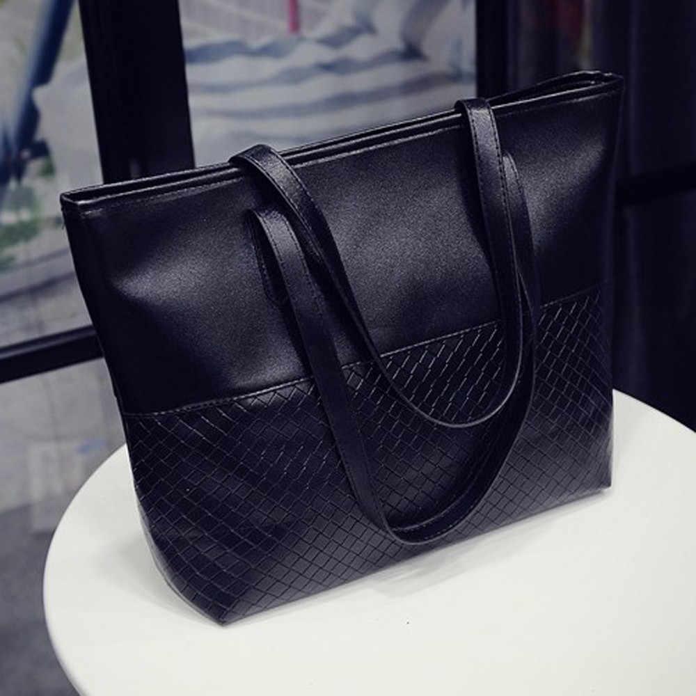 حقيبة كتف المرأة حقيبة يد سعة كبيرة حمل حقيبة ساعي كبيرة سوداء حقيبة يد فاخرة كيس فام الرئيسي دي marque luxe cuir7 #10