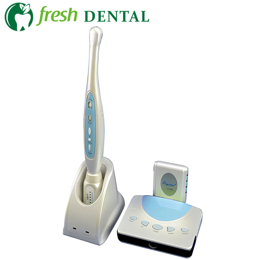 Dental Intraoral Camera Wired Wireless Intra Oral Camera 2.0 Mega Pixels Video&S-Video 6pcs White LED With SD Memory Card TW127 tdoubeauty oral camera 6 led light video