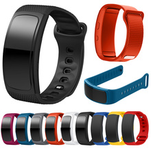 Official Silicone Watch band For Samsung Gear Fit2 Pro fitness Watch
