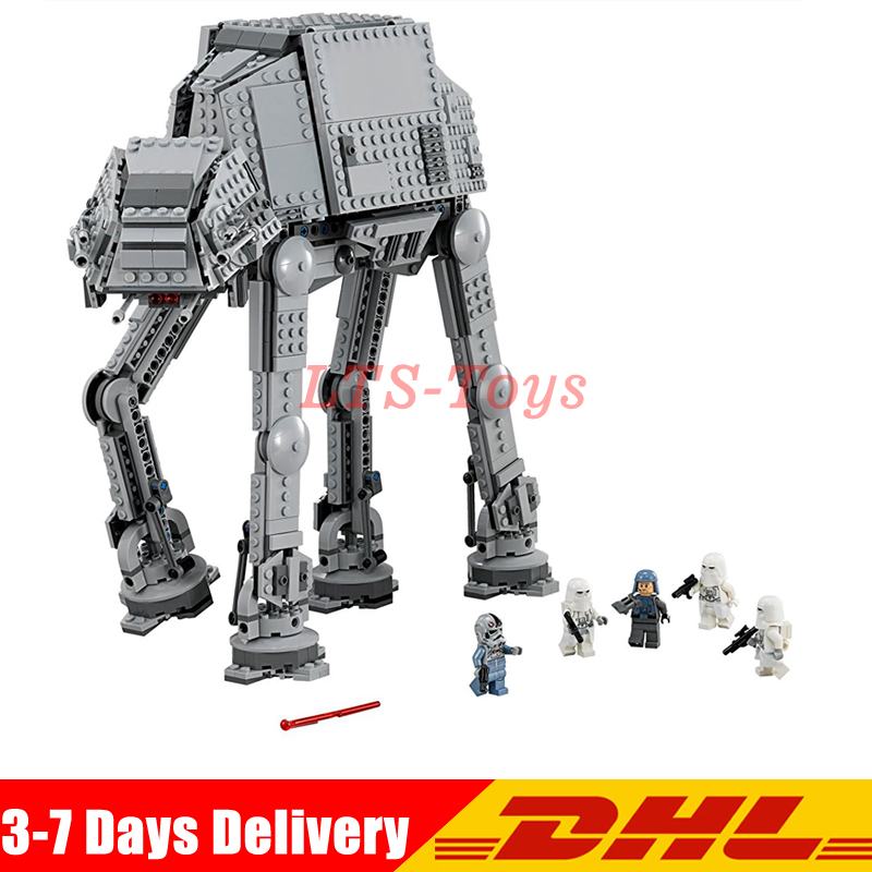Lepin 05051 Star Series Wars The Force set Awakens AT Model Kids Toys Building Blocks Bricks Action Compatible legoing 75054 482pcs star space the ja quadjumper set model building blocks bricks toys kids gifts compatible legoings star series wars 75178
