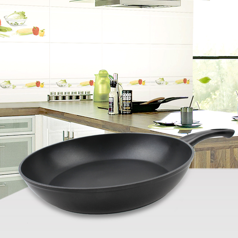 Stone-Derived NonStick Frying Pan Coating 5 Layers Bottom Soft Handle Aluminum Dishwasher Safe Cooking Pan Set