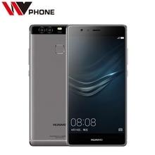 "WV Original Huawei P9 4G LTE Mobile Phone Kirin 955 3G RAM 32G ROM 5.2"" FHD 1080P Dual Back 12.0MP Camera"