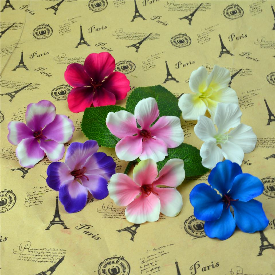 200pcs Spring Silk Gradient Orchid Artificial Flowers For